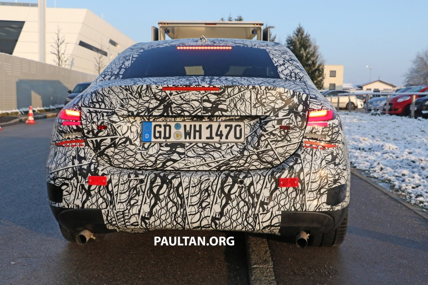 SPYSHOTS: Mercedes-AMG A35 Sedan spotted testing Image #775500