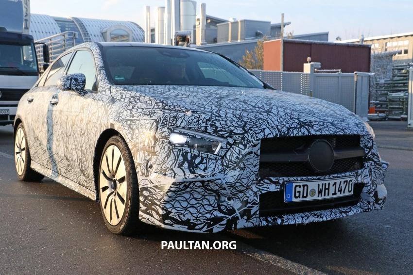 SPYSHOTS: Mercedes-AMG A35 Sedan spotted testing Image #775501