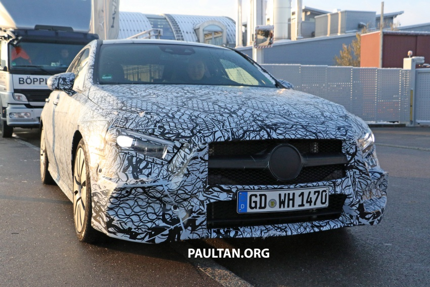 SPYSHOTS: Mercedes-AMG A35 Sedan spotted testing Image #775502