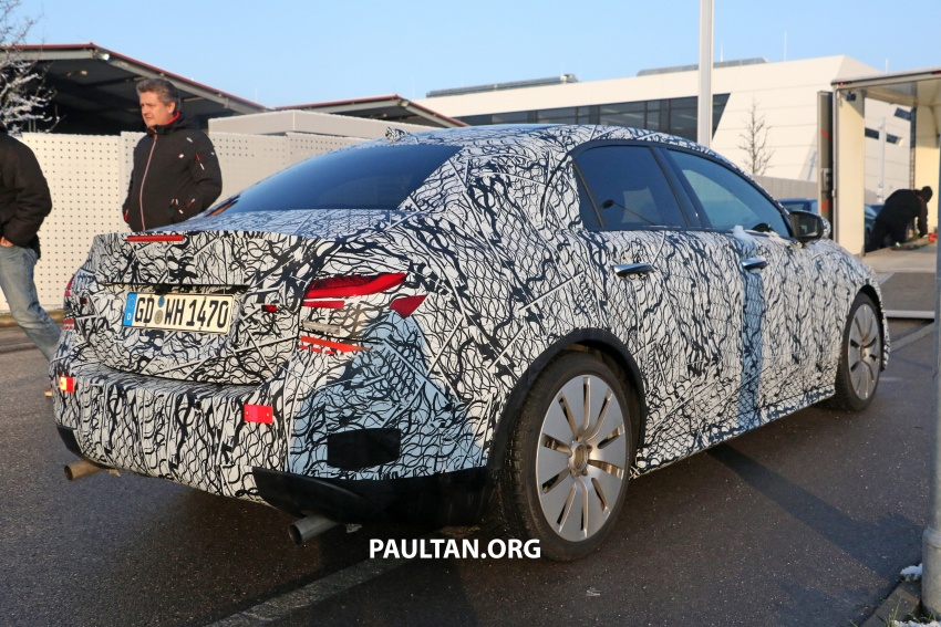 SPYSHOTS: Mercedes-AMG A35 Sedan spotted testing Image #775503