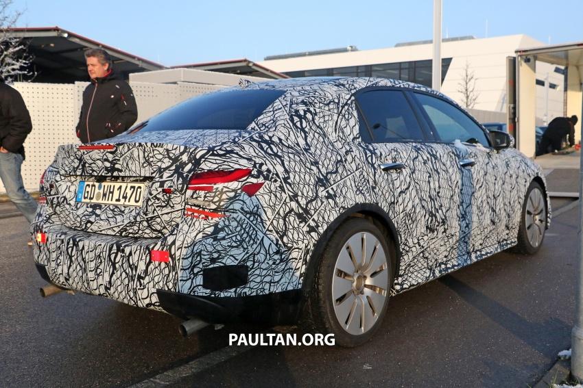SPYSHOTS: Mercedes-AMG A35 Sedan spotted testing Image #775503