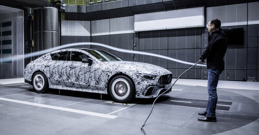 Mercedes-AMG teases its four-door GT before Geneva Image #780910