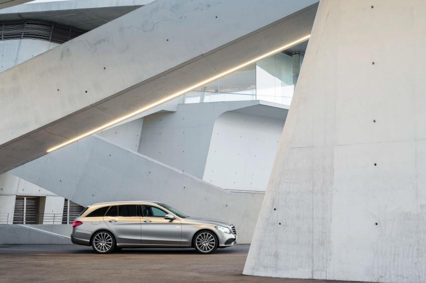 Mercedes-Benz C-Class <em>facelift</em> W205 didedahkan awal Image #779079