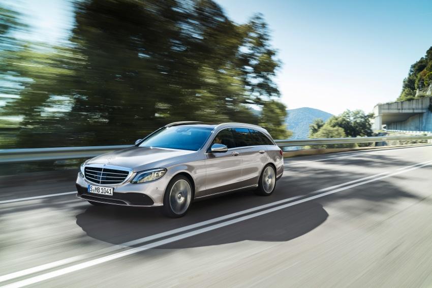 Mercedes-Benz C-Class <em>facelift</em> W205 didedahkan awal Image #779088