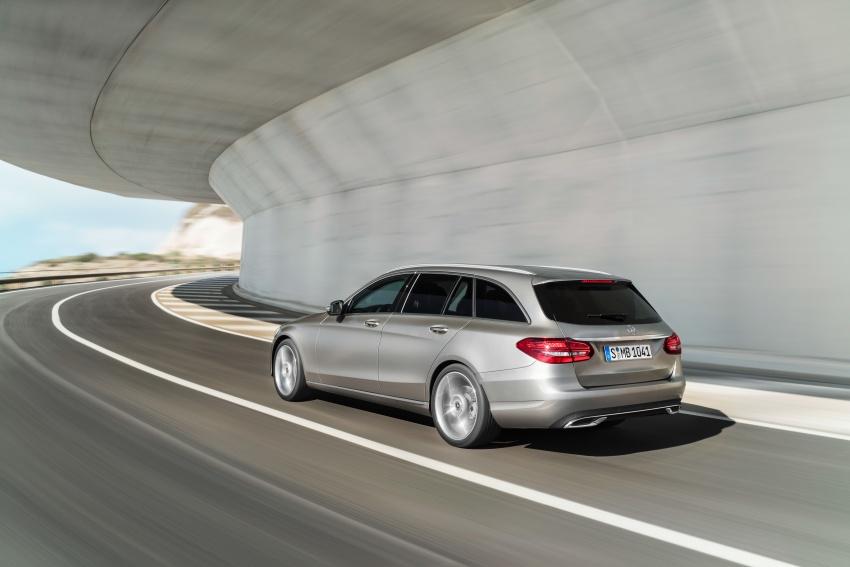 Mercedes-Benz C-Class <em>facelift</em> W205 didedahkan awal Image #779089