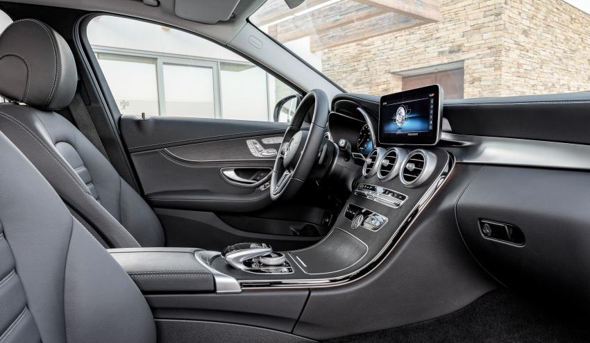 Mercedes-Benz C-Class <em>facelift</em> W205 didedahkan awal Image #779092