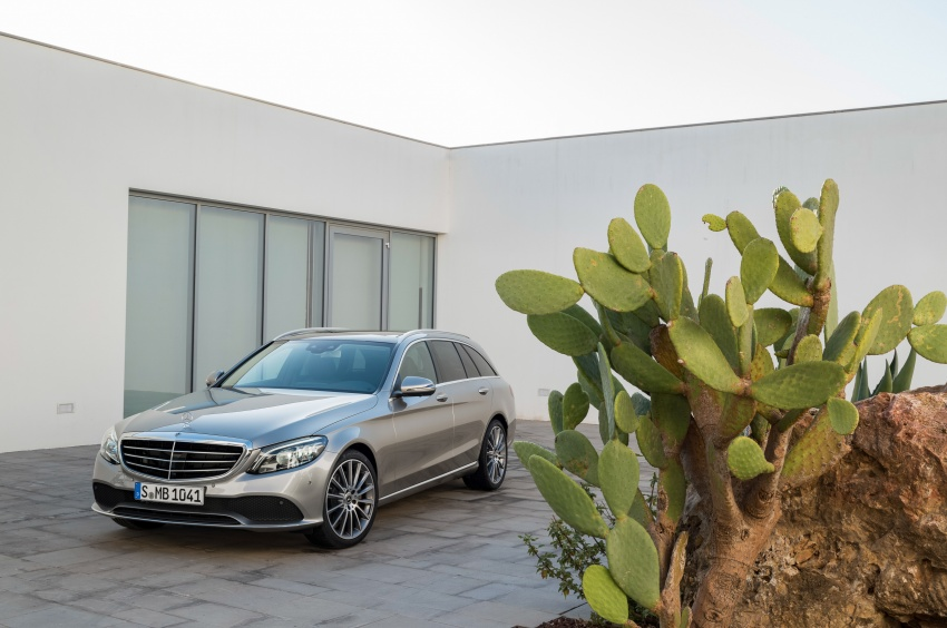 Mercedes-Benz C-Class <em>facelift</em> W205 didedahkan awal Image #779093