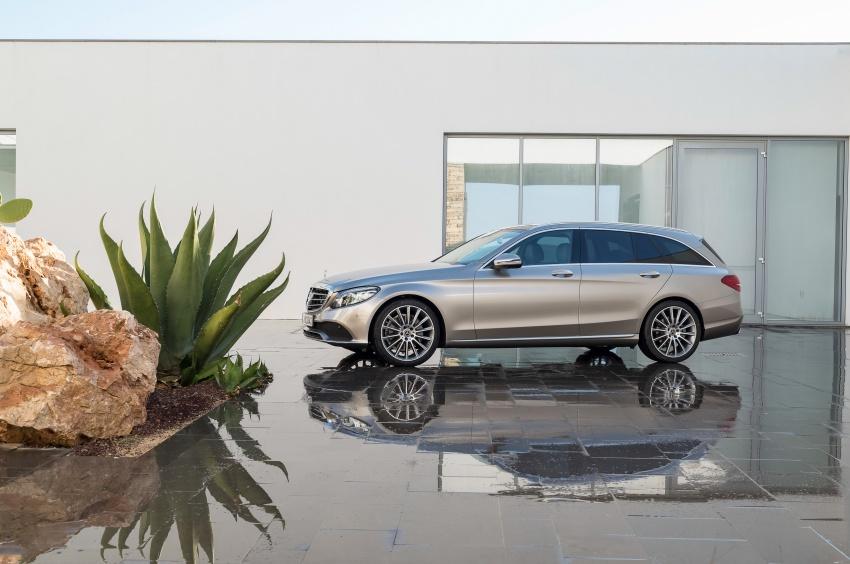 Mercedes-Benz C-Class <em>facelift</em> W205 didedahkan awal Image #779095