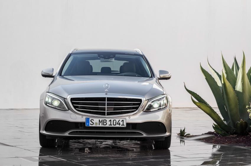 Mercedes-Benz C-Class <em>facelift</em> W205 didedahkan awal Image #779096