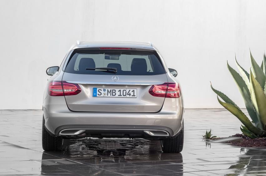 Mercedes-Benz C-Class <em>facelift</em> W205 didedahkan awal Image #779097