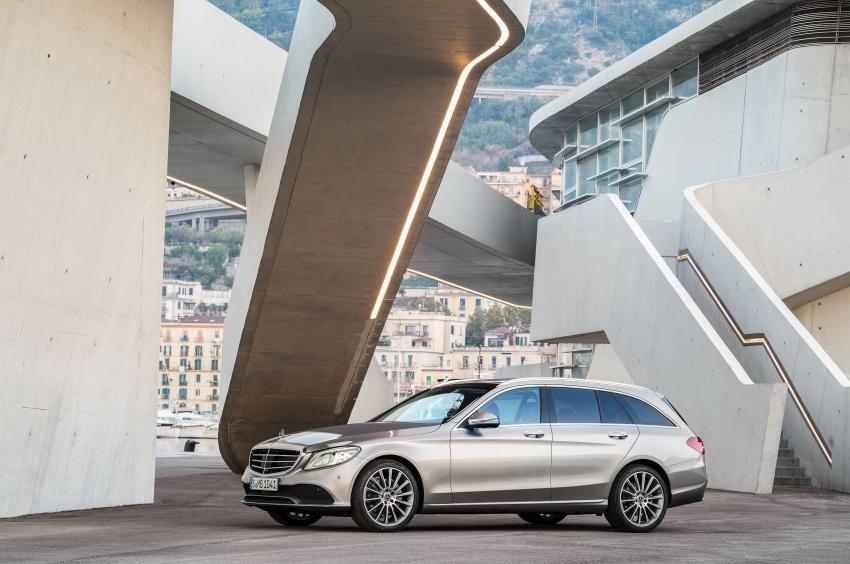 Mercedes-Benz C-Class <em>facelift</em> W205 didedahkan awal Image #779080