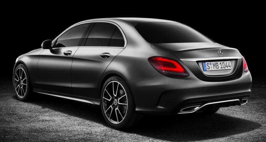 Mercedes-Benz C-Class <em>facelift</em> W205 didedahkan awal Image #779101