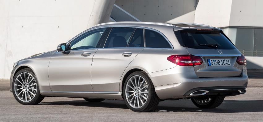 Mercedes-Benz C-Class <em>facelift</em> W205 didedahkan awal Image #779081