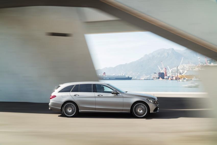 Mercedes-Benz C-Class <em>facelift</em> W205 didedahkan awal Image #779083