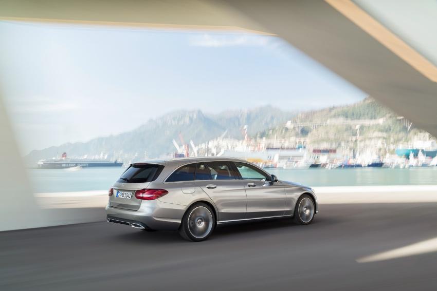 Mercedes-Benz C-Class <em>facelift</em> W205 didedahkan awal Image #779084