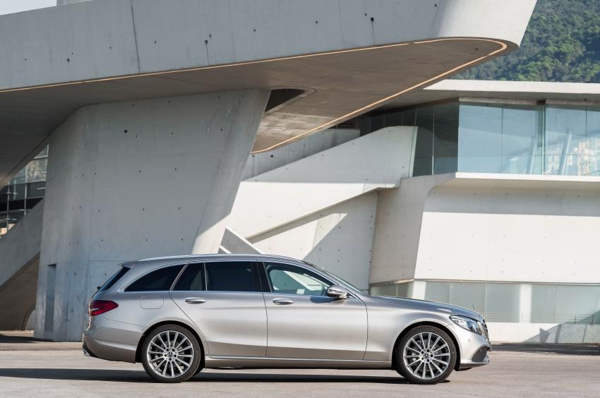 Mercedes-Benz C-Class <em>facelift</em> W205 didedahkan awal Image #779086