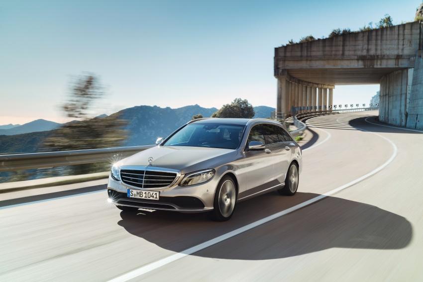 Mercedes-Benz C-Class <em>facelift</em> W205 didedahkan awal Image #779087