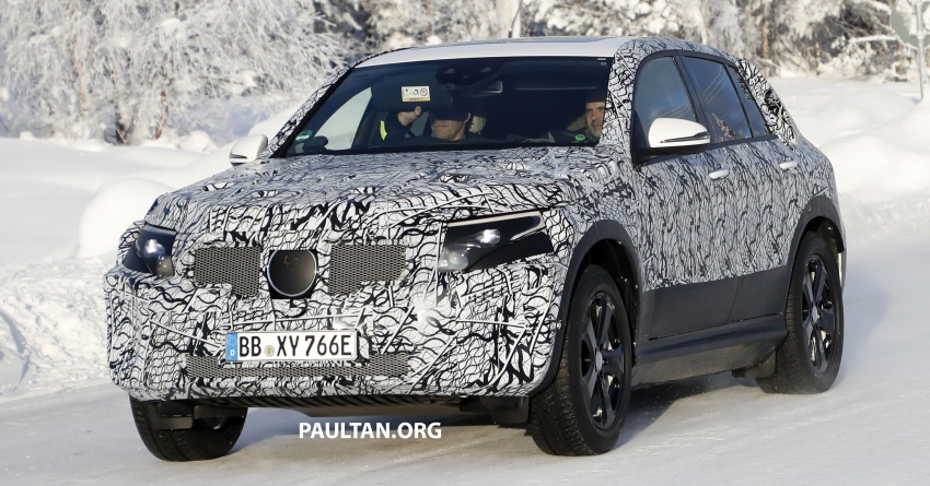 SPYSHOTS: Mercedes-Benz EQ C seen testing again Image #777619