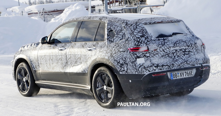 SPYSHOTS: Mercedes-Benz EQ C seen testing again Image #777624