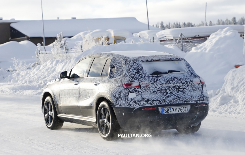 SPYSHOTS: Mercedes-Benz EQ C seen testing again Image #777625