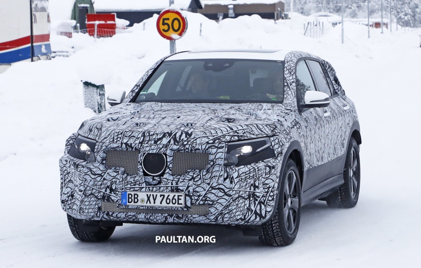 SPYSHOTS: Mercedes-Benz EQ C seen testing again Image #777609