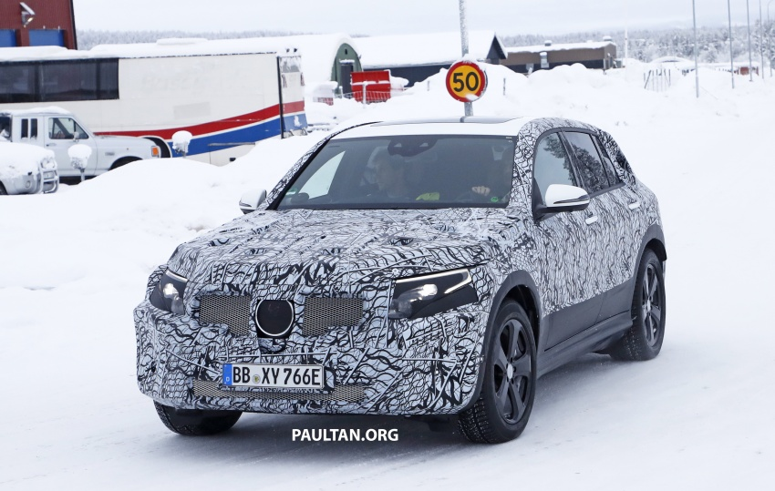 SPYSHOTS: Mercedes-Benz EQ C seen testing again Image #777610