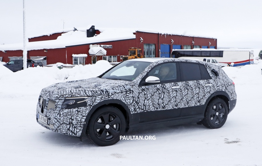 SPYSHOTS: Mercedes-Benz EQ C seen testing again Image #777612