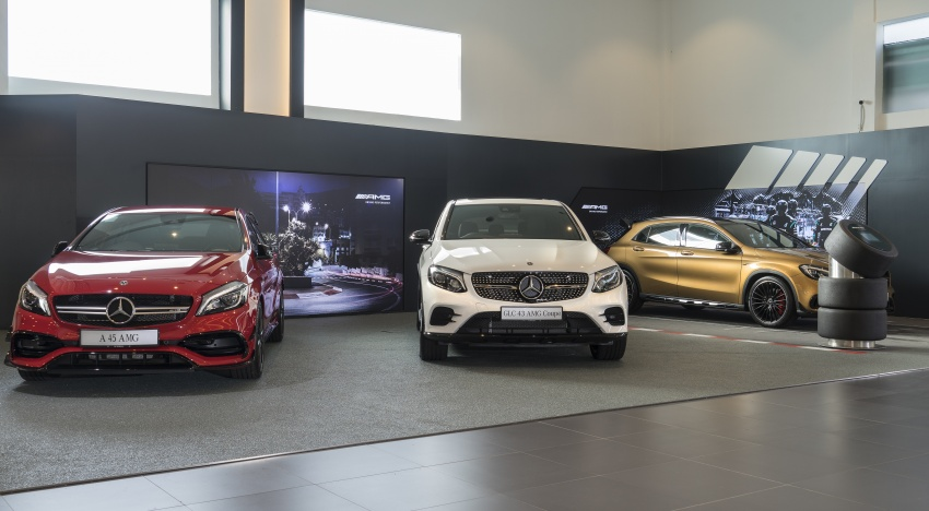 Mercedes-Benz Malaysia launches NZ Wheels Klang Autohaus 3S centre – 320,000 sq ft, RM6m upgrade Image #783422