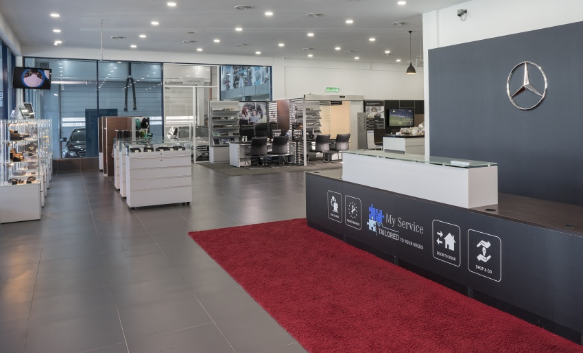 Mercedes-Benz Malaysia launches NZ Wheels Klang Autohaus 3S centre – 320,000 sq ft, RM6m upgrade Image #783427