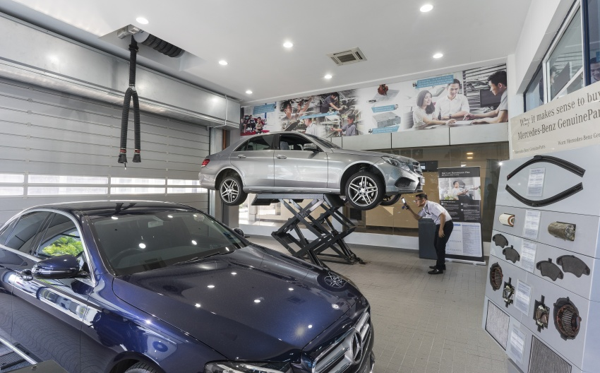 Mercedes-Benz Malaysia launches NZ Wheels Klang Autohaus 3S centre – 320,000 sq ft, RM6m upgrade Image #783429