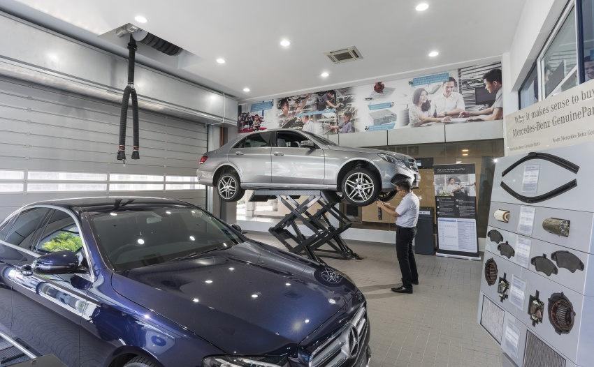 Mercedes-Benz Malaysia launches NZ Wheels Klang Autohaus 3S centre – 320,000 sq ft, RM6m upgrade Image #783430