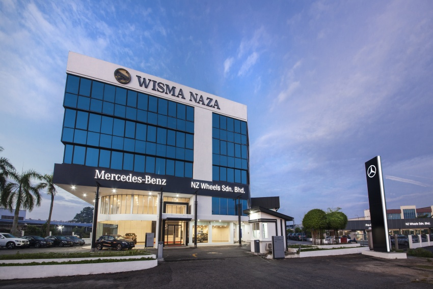 Mercedes-Benz Malaysia launches NZ Wheels Klang Autohaus 3S centre – 320,000 sq ft, RM6m upgrade Image #783413