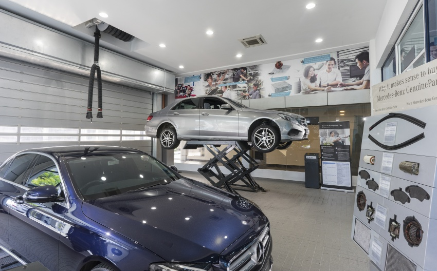 Mercedes-Benz Malaysia launches NZ Wheels Klang Autohaus 3S centre – 320,000 sq ft, RM6m upgrade Image #783431