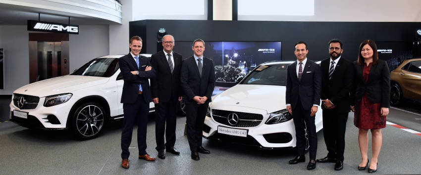 Mercedes-Benz Malaysia launches NZ Wheels Klang Autohaus 3S centre – 320,000 sq ft, RM6m upgrade Image #783432