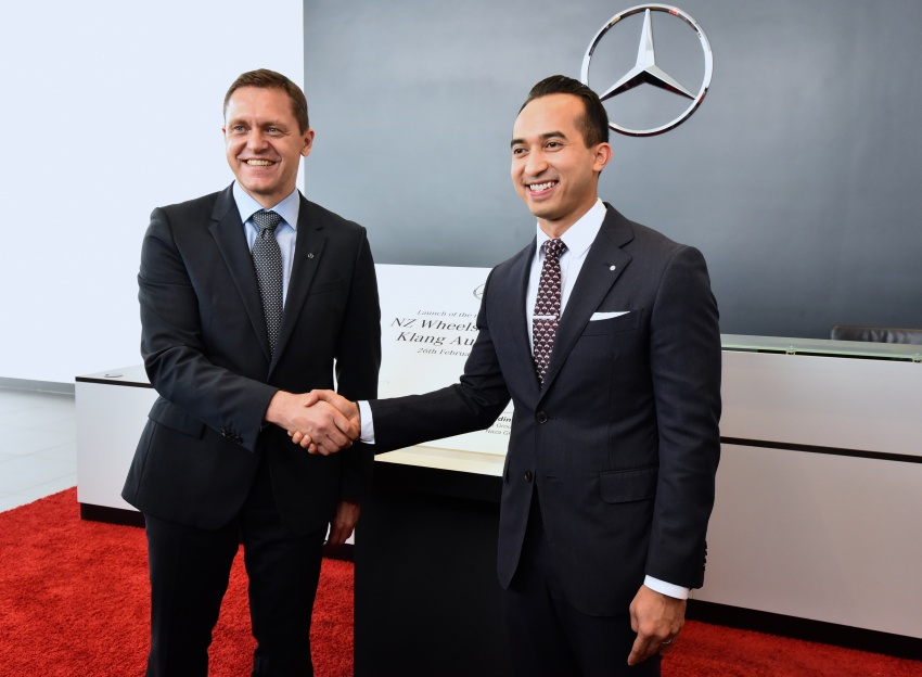 Mercedes-Benz Malaysia launches NZ Wheels Klang Autohaus 3S centre – 320,000 sq ft, RM6m upgrade Image #783435