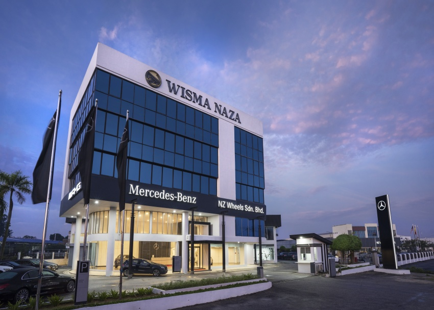 Mercedes-Benz Malaysia launches NZ Wheels Klang Autohaus 3S centre – 320,000 sq ft, RM6m upgrade Image #783415