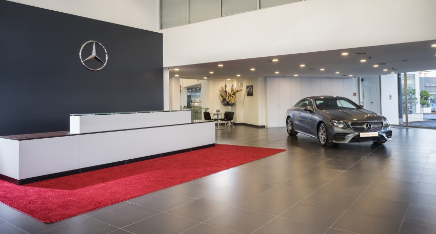 Mercedes-Benz Malaysia launches NZ Wheels Klang Autohaus 3S centre – 320,000 sq ft, RM6m upgrade Image #783416