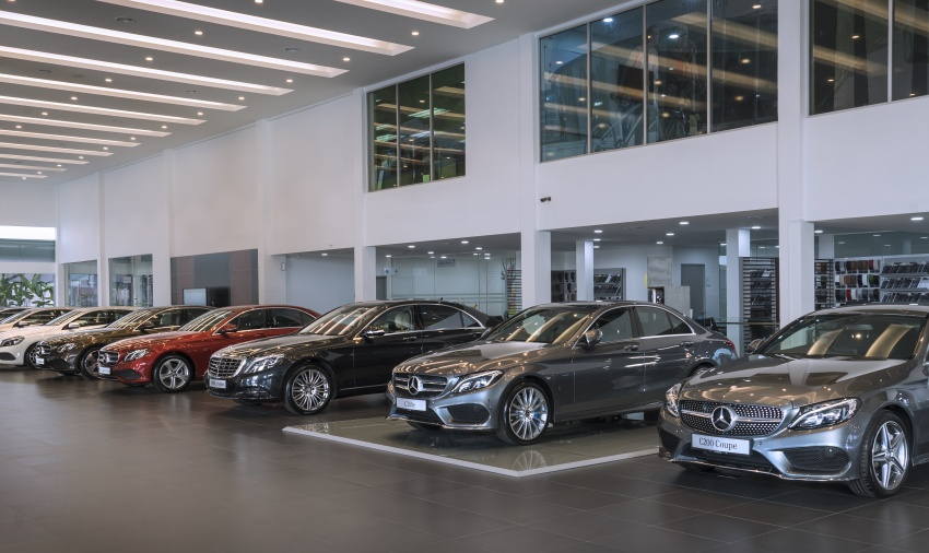 Mercedes-Benz Malaysia launches NZ Wheels Klang Autohaus 3S centre – 320,000 sq ft, RM6m upgrade Image #783420