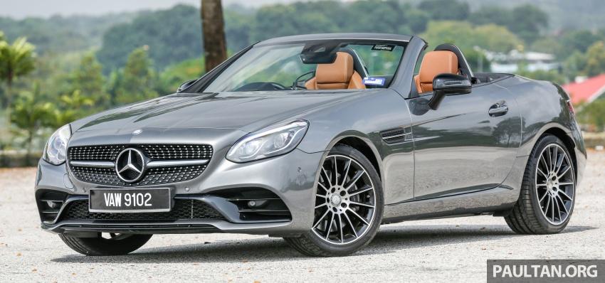 PANDU UJI: Mercedes-Benz SLC 300 AMG Line – beri tumpuan terhadap gaya dan perincian pemanduan Image #782200