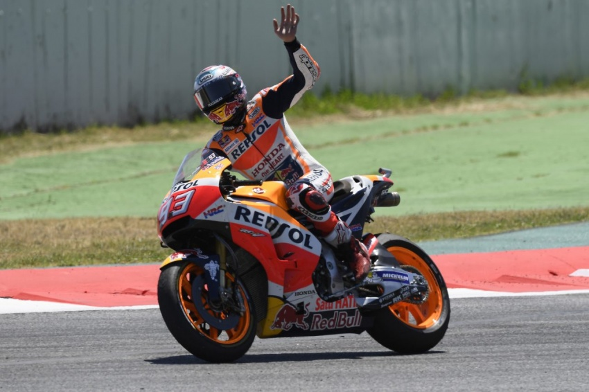 MotoGP champ Marquez – two more years with Honda Image #783828