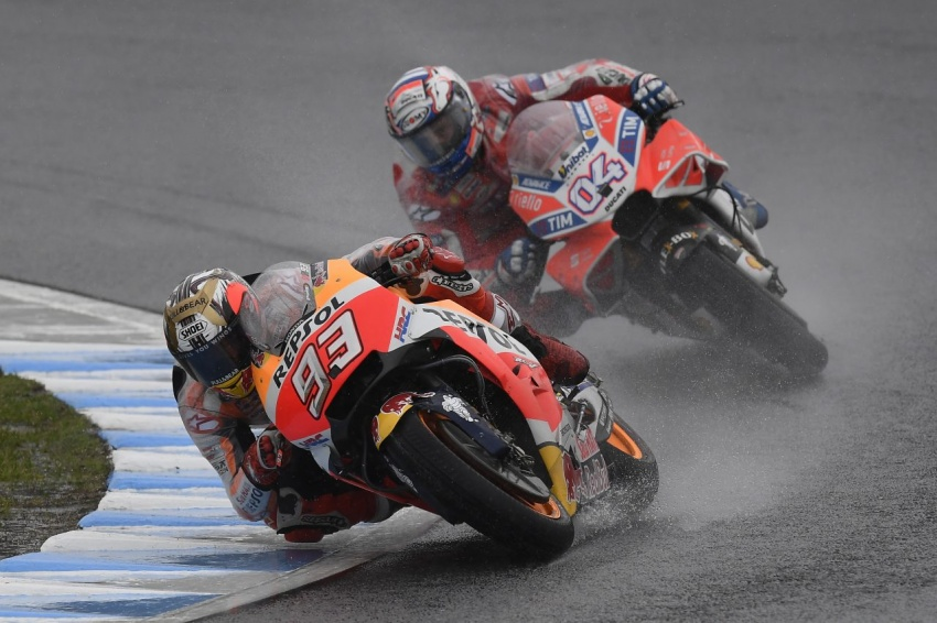 MotoGP champ Marquez – two more years with Honda Image #783854