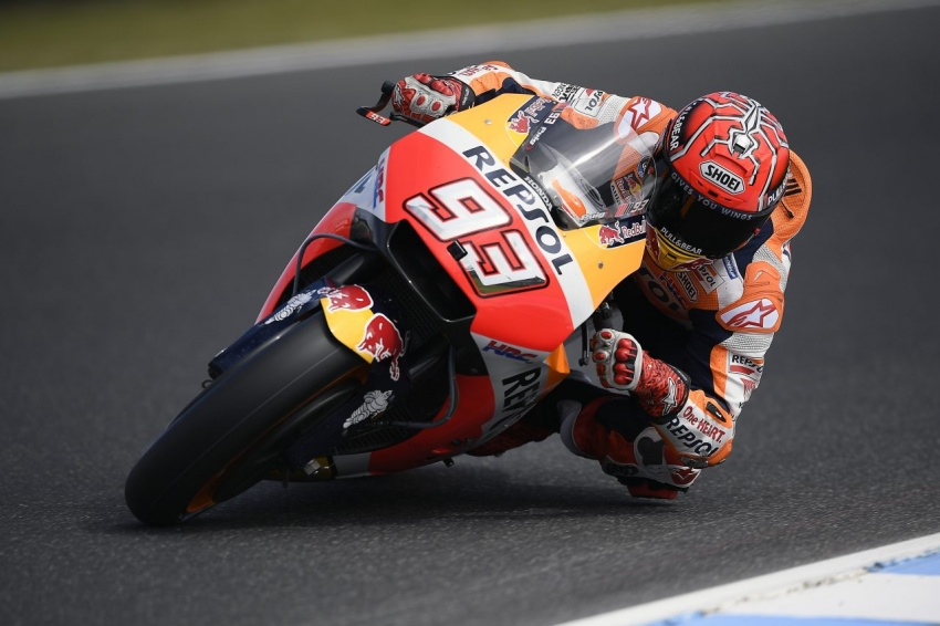 MotoGP champ Marquez – two more years with Honda Image #783855