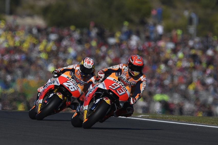 MotoGP champ Marquez – two more years with Honda Image #783864