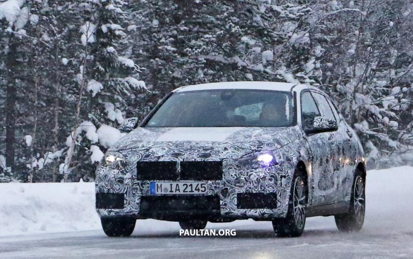 SPYSHOTS: BMW 1 Series wearing production lights Image #782299