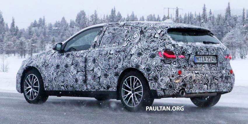 SPYSHOTS: BMW 1 Series wearing production lights Image #782304