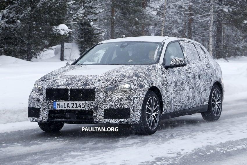 SPYSHOTS: BMW 1 Series wearing production lights Image #782290