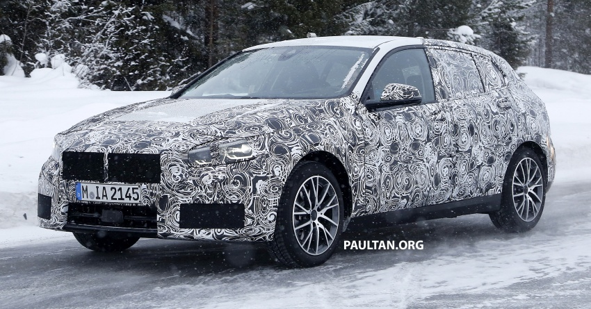 SPYSHOTS: BMW 1 Series wearing production lights Image #782291
