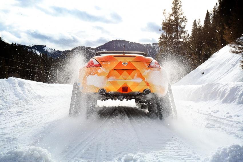 Nissan 370Zki – 332 hp RWD untuk dibelasah atas salji Image #775022