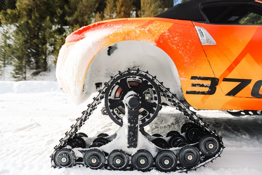 Nissan 370Zki – 332 hp RWD untuk dibelasah atas salji Image #775023