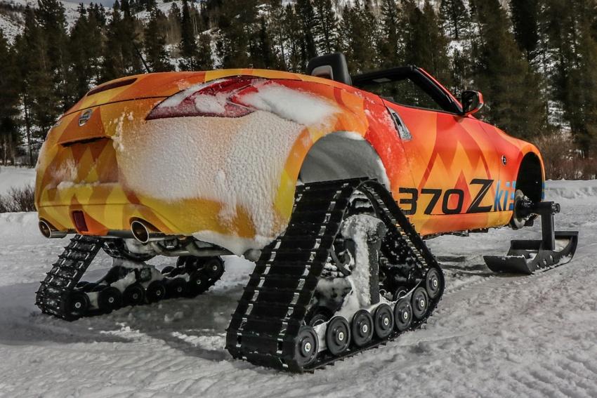Nissan 370Zki – 332 hp RWD untuk dibelasah atas salji Image #775016